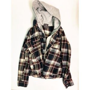 Forever 21 | Hooded Flannel
